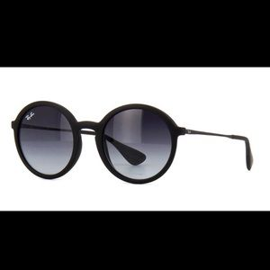 Ray-Ban 4222 Round Gray Black gradient sunglasses